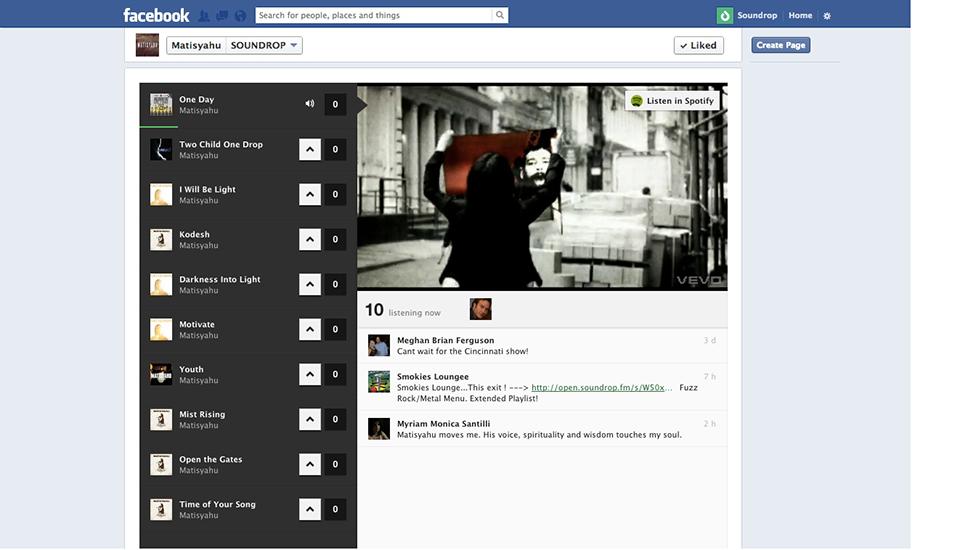 Matisyahu Facebook