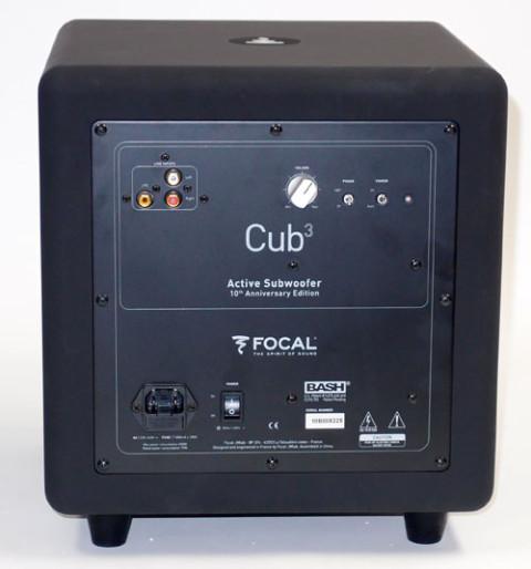 På Cub3 har Focal fjernet det de selv mener er unødvendige funksjoner.