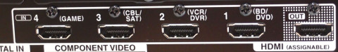 HDMI-innganger og 1 utgang med lydreturkanal er langt mer enn de sedvanlige alt-i-ett-anleggene tilbyr.