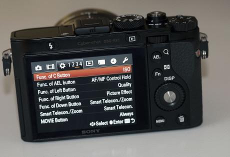 Sony-RX1-meny