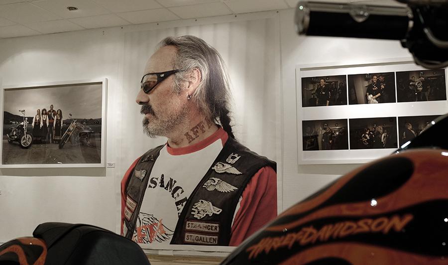 Fra Marcel Leliënhofs utstilliing av bilder fra det norske HA-miljøet.