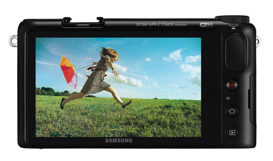 Samsung NX2000 bak