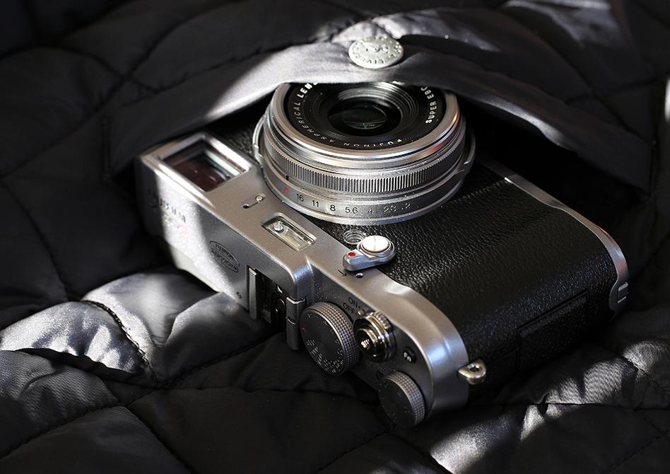 Kameraet går ned i de fleste lommer.
