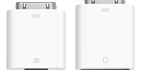 Apple Camera Connection Kit lar deg koble til det meste.