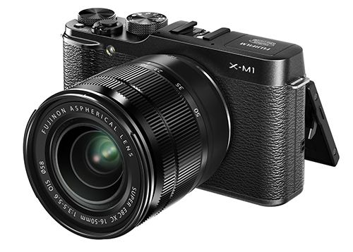X-M1_Black_Front_Left_16-50mm_Tilt_LCD