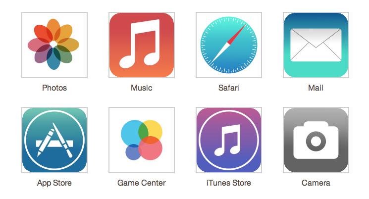 iOS7 mock up