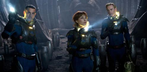 Prometheus var blant de vellykkede DSP-demoene. Copyright: 20th Century Fox