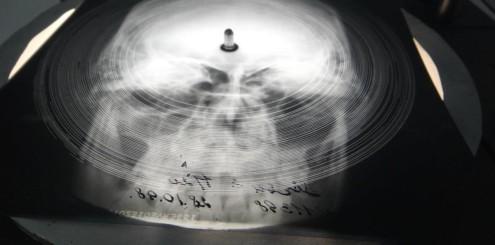 Musikk trykket på røntgenbilder ble svært populært i Russland i etterkrigstiden.