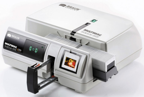 Braun Multimag SlideScan 6000 Scanner close