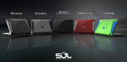 Fem ulike farger er tilgjengelig.