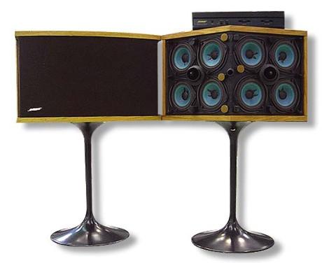 Bose 901 med tilhørende equalizer.