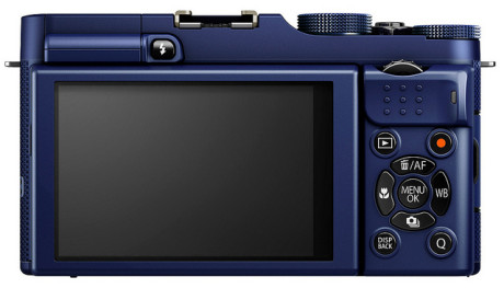 FujiFilm X-A1 bak