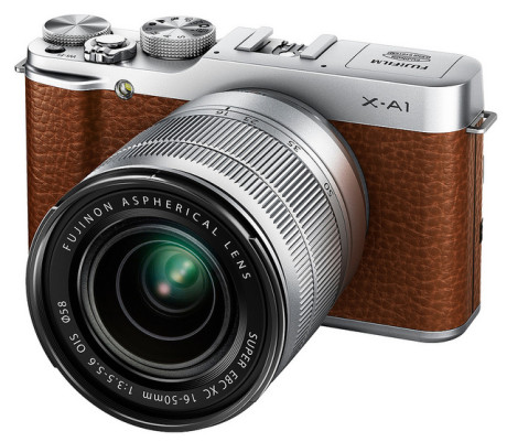 FujiFilm X-A1 brun