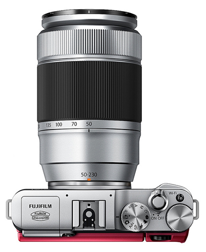 FujiFilm X-A1 tele