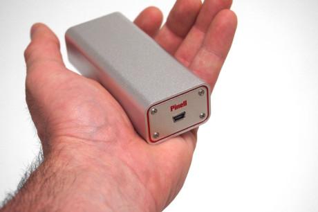 Pinell DAC Mini 2 er enda mer kompakt enn forgjengeren.