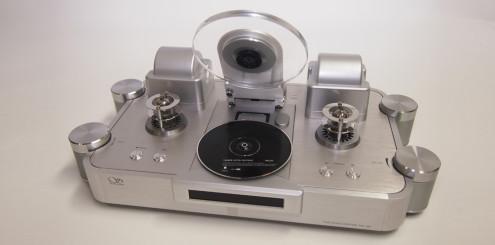 CD-drivverk med topplokk gir et elegant utseende.