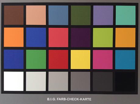 iPad air colour chart