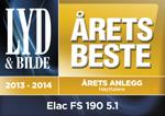 Anlegg Elac FS 190 5