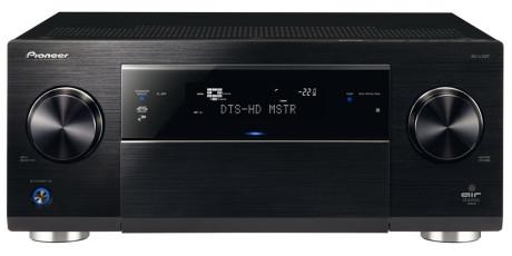 Pioneer er blant produsentene som har Spotify Connect innebygd. Her surroundreceiveren SC-LX87.