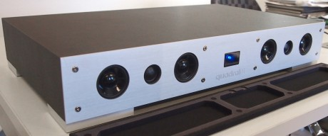 Quadral har også andre produkter. Som Magique lydsokkel, til rundt 5.000 kroner.