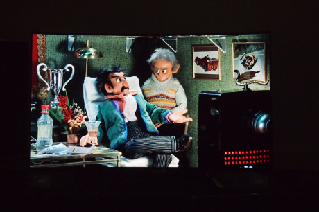 """""""Svarte svingende for et svartnivå!"""" Selv Rudolf Blodstrupmoen og synske Mysil Bergsprekken ville blitt imponert over bildekvaliteten fra OLED-skjermen til LG."""