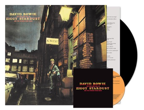 """Et eksempel på at det fremdeles gjøres analog (re)mastering er David Bowies """"The Rise And Fall Of Ziggy Stardust And The Spiders From Mars - 40th Anniversary Edition"""" fra 2012."""