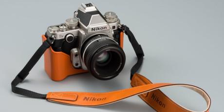 Nydelig retrodesign med formen fra et kamera fra fortiden, og innmat fra fremtiden.