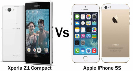 Sony-Xperia-Z1-Compact-vs-iPhone-5S
