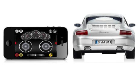 La det ene leketøyet kontrollere det andre: Styr modellbilen via ditt nettbrett.