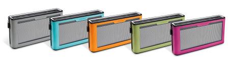 Bose SoundLink Bluetooth Speaker III er tilgjengelig med mykt deksel i fem ulike farger.