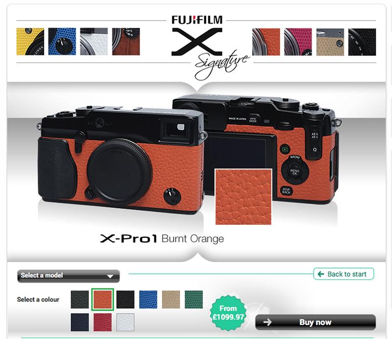 Fujifilm XPRO1 Signature service