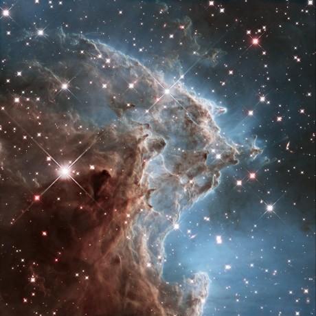 Apehodetåken, NGC 2174.