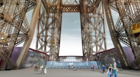 285 millionersprosjektet inkluderer riving og oppbygging av andreetasje av Eiffeltårnet med blant annet velkomstsenter, butikker og en restaurant.