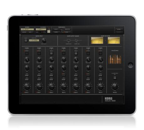 iPad har også lagt skærm til nostalgien i form af iMS-20, der genskaber MS-20 som software