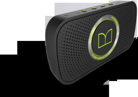 Monster SuperStar er en liten Bluetooth-høyttaler som passer i håndflaten.