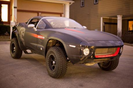 Mikro-bilfabrikken Local Motors har nettopp skrevet kontrakt for å utvikle verdens første 3D-printede elbil. Her ses fabrikkens ferdigbil Rally Fighter.