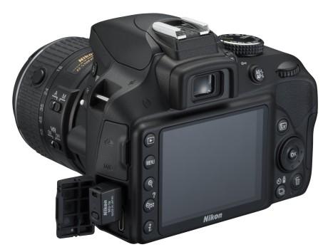 Du må ha en separat sender som WU1a, for å bruke wi-fi på Nikon-kameraet.