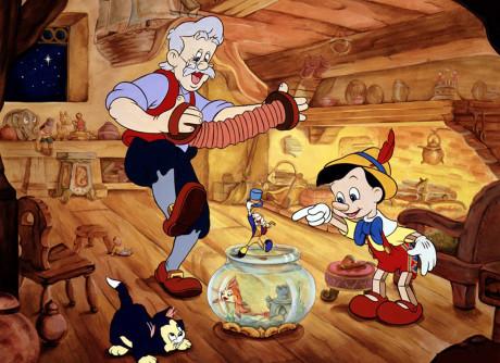 Pinocchio (1940) er blant de nydeligste animerte Disneyklassikerne.