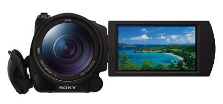 Sony_FDR-AX100E_front