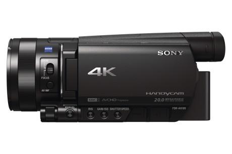 Sony_FDR-AX100E_venstre_side