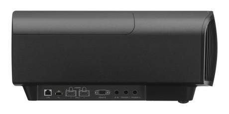 Inngangene sitter på siden i stedet for bak, blant annet to HDMI-innganger.