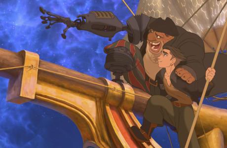 Med den visuelt vakre Treasure Planet (2002), tok Disney for alvoret steget inn i den digitale tidsalder.