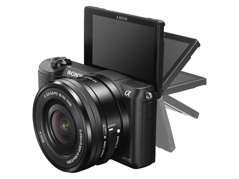 Sony a5100 skjerm