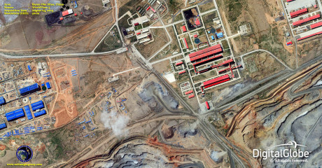 Bayan-Obo-gruven i Kina.