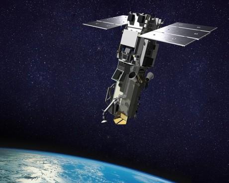 WorldView-3. Illustrasjon: DigitalGlobe