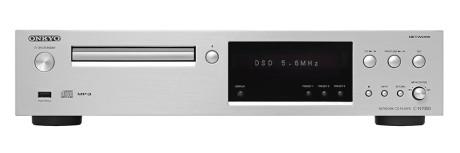 Onkyo C-N7050 er også tilgjengelig i sølv.