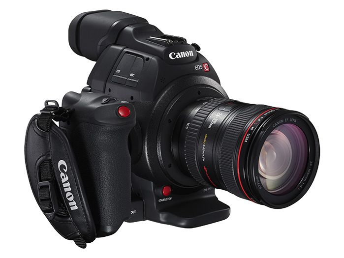 EOS C100 Mark II core lens1 grip FSR