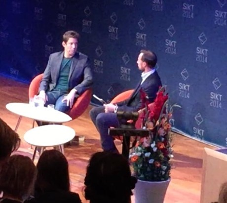 Selveste Kronprinsen intervjuer Nick Woodman.