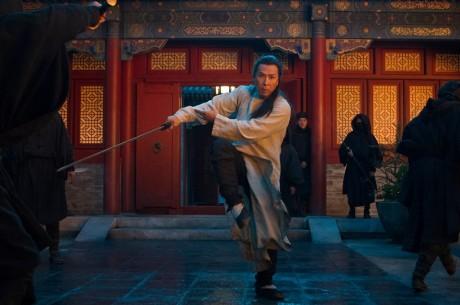 Donnie Yen som Silent Wolf i Crouching Tiger, Hidden Dragon: The Green Legend.