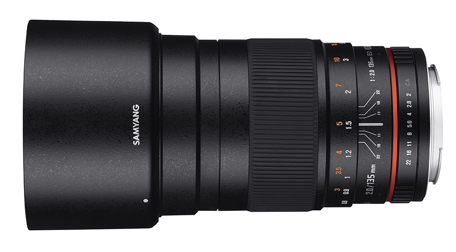 135mm F2.0 - 1 front